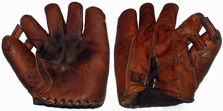 Dating baseball gloves