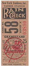 Grandstand Ticket Stub Dating Guide
